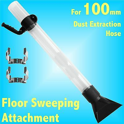 Floor Sweeper for 100m Dust Extraction Hose Charnwood SIP Record extractor