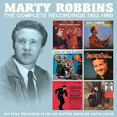 Marty Robbins - Marty Robbins - The Complete Recordings: 1952-1960 [New CD]