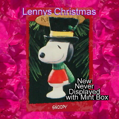 Hallmark Ornament, 1995 A Charlie Brown Christmas, Snoopy, New