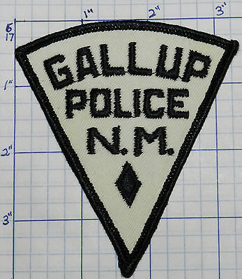 New Mexico, Gallup Police Dept Triangle Patch