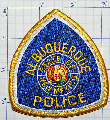 "New Mexico, Albuquerque Police Dept 3.5"" Patch"