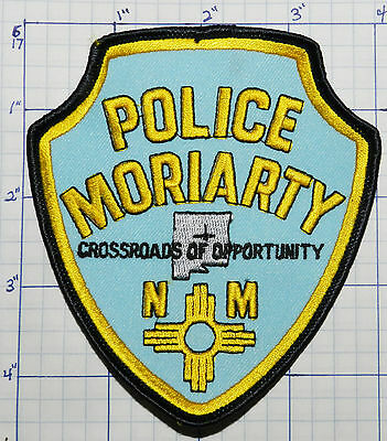 New Mexico, Moriarty Police Dept Blue Patch