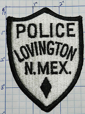 New Mexico, Lovington Police Dept White Patch