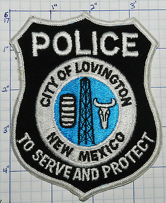 New Mexico, Lovington Police Dept Black Patch