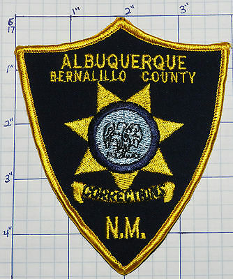 New Mexico, Albuquerque Bernalillo County Police Corrections Patch