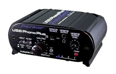 ART USB Phono Plus PS Preamp and Audio Interface (NEW)