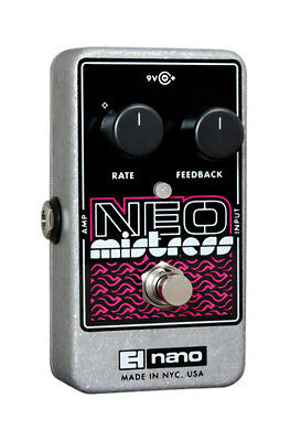 Electro Harmonix Neo Mistress Flanger Effects Pedal (NEW)
