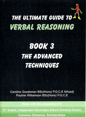 The Ultimate Guide to Verbal Reasoning: Advanced Techniques Bk. 3. 9780954418977