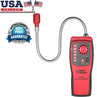 Combustible Gas Leak Detector Tester Audio & Visible Leakage Alarm Indication