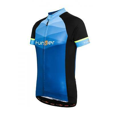 Funkier Rideline Mens Short Sleeve Cycle Cycling Bike Jersey