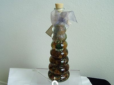 """Oil Lamp """"floating Rings"""" Paraffin Lamp Oil Produced By Flowers Paradise"""