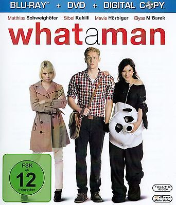 What A Man / Blu-Ray Disc + Dvd - Top-Zustand