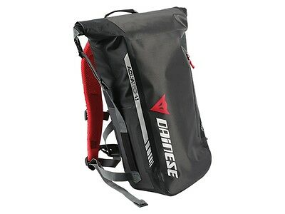 Motorrad Rucksack Dainese D-Elements Backpack wasserdicht stealth black 26,4 L