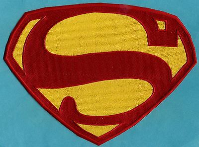 Kirk Alyn Superman Chest Logo Patch:  Choice of Sizes