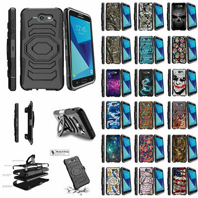 For Samsung Galaxy On7 | J7 Prime | J7 Halo (2017) Clip Case Unique Designs