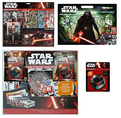 STAR WARS Sticker Sets - Re-Usable & Customise Gagdets (Xmas/Gift/Stormtrooper)
