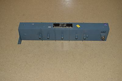Microwave Filter Co 3977-H4 Bandpass Filter