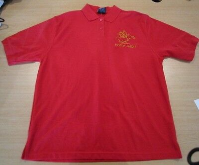 Personalised Embroidered Shirt with your choice of Horse Design in RED