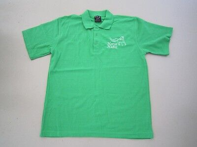 Personalised Embroidered Shirt with your choice of Horse Design in Kelly Green