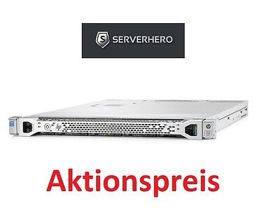 Server Rack HPE DL360 Gen9 8SFF 500W HP Rackserver Konfiguration - Configuration