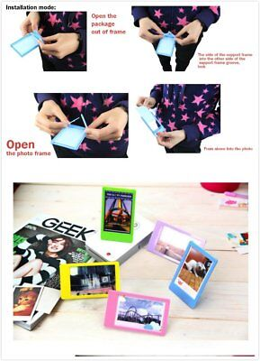 20 pieces colour mini photo frames Polaroid Snap Touch LG Pringo P231 5 x 7.6cm