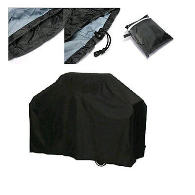 Dustproof Waterproof Fitted BBQ Grill Cover Rainproof Barbecue Covering Shades