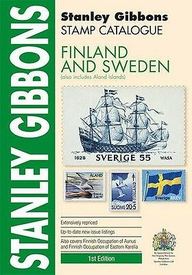 STANLEY GIBBONS - STAMP CATALOGUE - FINLAND AND SWEDEN - 1st EDITION - NEW