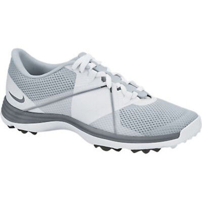 NEW Womens Nike Lunar Summer Lite 2 Golf Shoes Grey / White Size - Choose Size!