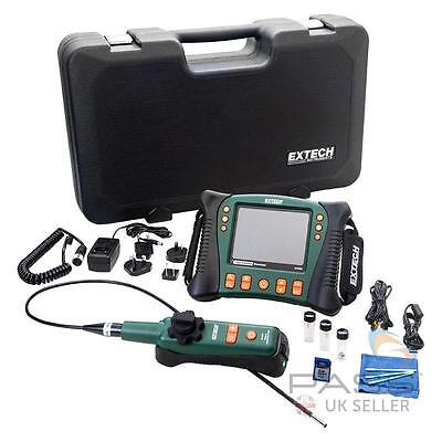 *NEW* Extech HDV640W HD VideoScope with Wireless Handset/Articulating Probe / UK