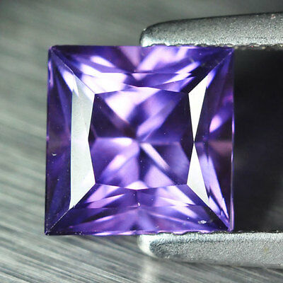 1.50ct.RAVISHING PURPLE SAPPHIRE SQUARE LOOSE GEMSTONE