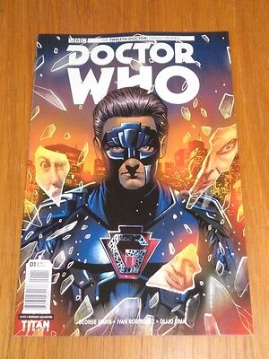 Doctor Who #1 Twelfth Doctor Ghost Stories Titan Cover A May 2017 Nm (9.4)