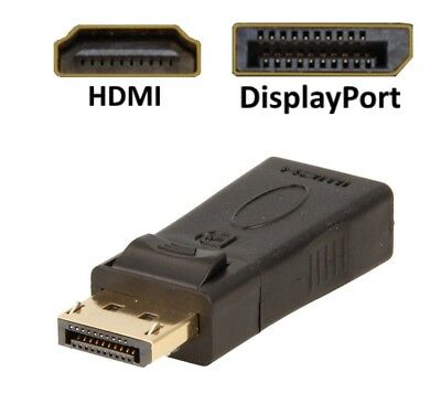 DisplayPort HDMI Adapter Konverter DP 1.2 zu HDMI 1.3 1080P mit Audioübertragung