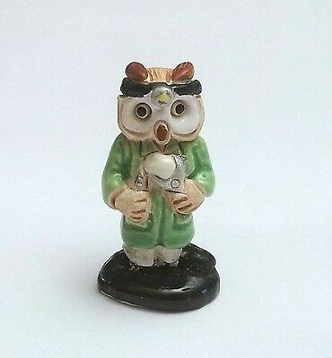 chouette dentiste,hibou collection, vitrine,uil ,owl  **CL8-16