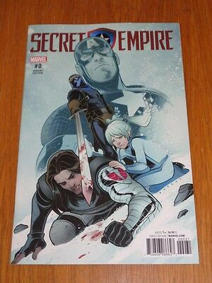 Secret Empire #0 Marvel Comics Torque Variant Nm (9.4)