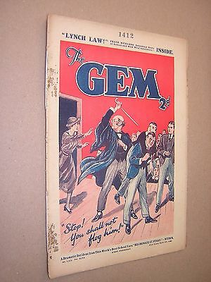 THE GEM. MAR 9th 1935. SCHOOLBOY'S PAPER. COMIC. TOM MERRY OF ST. JIM'S etc.
