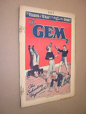 THE GEM. MAR 2nd 1935. SCHOOLBOY'S PAPER. COMIC. TOM MERRY OF ST. JIM'S etc.
