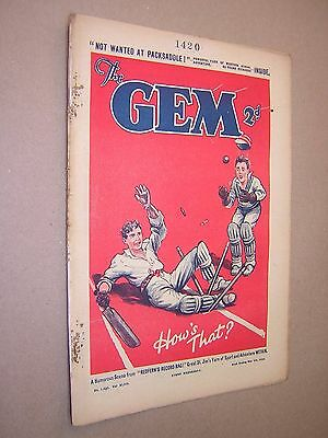 THE GEM. MAY 4th 1935. SCHOOLBOY'S PAPER. COMIC. TOM MERRY OF ST. JIM'S etc.