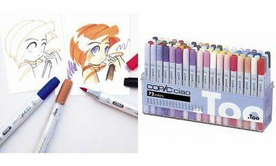 COPIC Hobbymarker ciao, 72er Set A