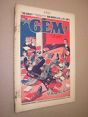 THE GEM. AUG 3rd 1935. SCHOOLBOY'S PAPER. COMIC. TOM MERRY OF ST. JIM'S etc.