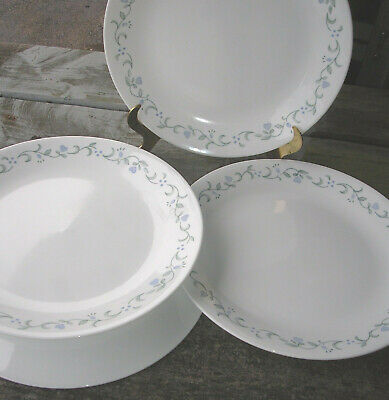 Corning Corelle Country Cottage Lot Of  4  Dinner Plates New