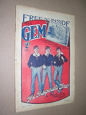 THE GEM. JUNE 1st 1929. SCHOOLBOY'S PAPER. COMIC. TOM MERRY OF ST. JIM'S etc.