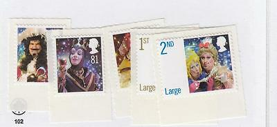 Gb Vf-Mnh Pantomime Self Adhesive Issues Cat Value $9+