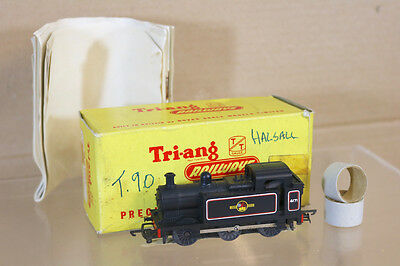 TRIANG T90 TT GAUGE BR 0-6-0 JINTY CLASS 3F TANK LOCO 4171 LATE PRODUCTION nj