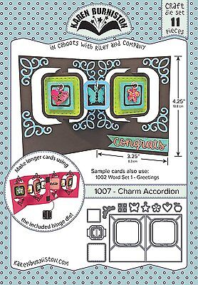 Karen Burniston 1007 - Charm Accordion Die
