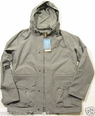 Barbour Men's Gray Marl Mull Hooded Jacket $399