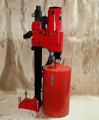 """10"""" Z-1 CORE DRILL 2 SPEED W/ STAND CONCRETE CORING by BLUEROCK ® TOOLS"""