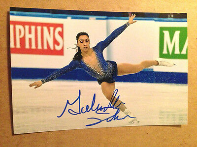 Gabrielle Daleman SIGNED 4x6 photo Figure Skating CANADIAN NATIONAL CHAMPION #8
