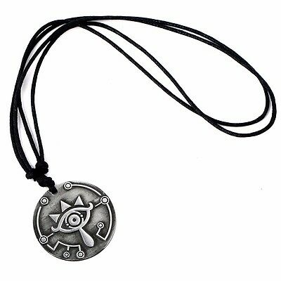 The Legend of Zelda Cosplay Sheikah Slate Breath of the Wild Necklace Pendant
