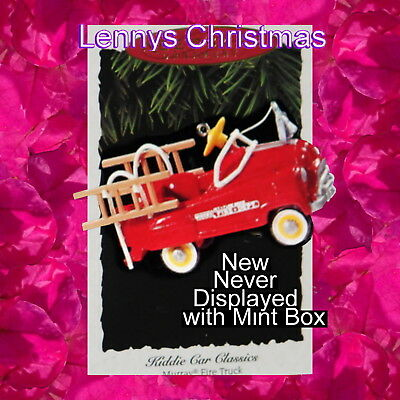 Hallmark Ornament, 1995 Murray Fire Truck, Kiddie Car Classic, New