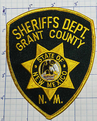 New Mexico, Grant County Sheriffs Dept Patch